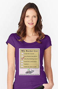 Women's Bucket List T Shirt