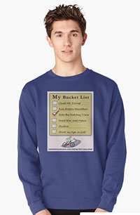 I Men's Pullover - Bucket List