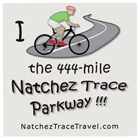 I Biked the Natchez Trace Sticker