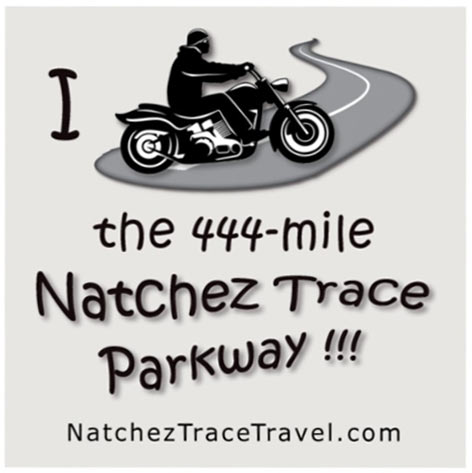 I Rode the Natchez Trace Parkway Sticker