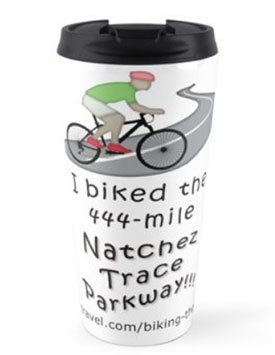 I Biked the Natchez Trace Travel Mug