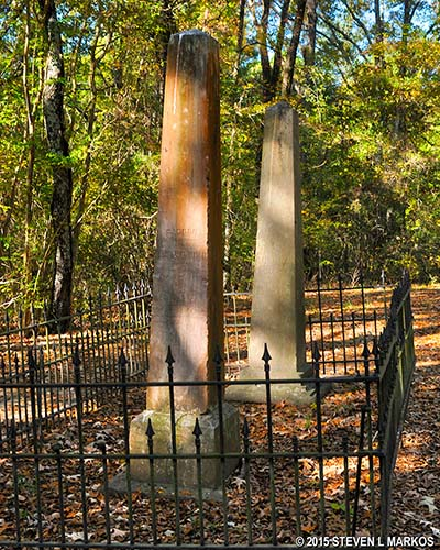 Cowles Mead Cemetery - Natchez Trace Parkway