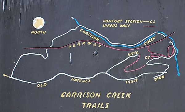 Garrison Creek Trail Map