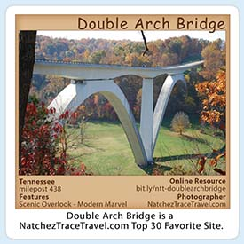 Double Arch Bridge Sticker