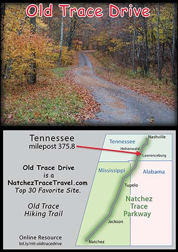 Old Trace Drive - Natchez Trace Parkway