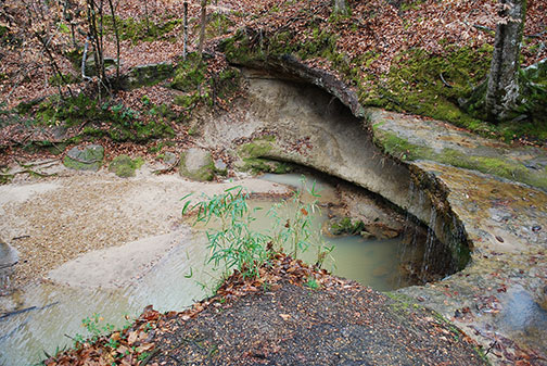 Owens Creek Waterfall - Natchez Trace Parkway