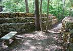 Wichahpi Commemorative Stone Wall - Florence, Alabama