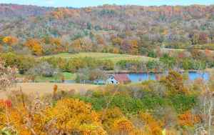 Water Valley Overlook - Natchez Trace Parkway