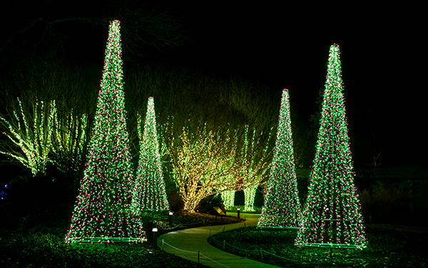 Holiday LIGHTS at Cheekwood Gardens & Estate - Nashville, Tennessee