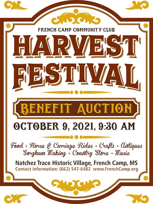French Camp Harvest Festival - French Camp, Mississippi