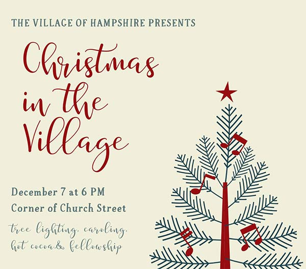 Christmas in the Village - Hampshire, Tennessee