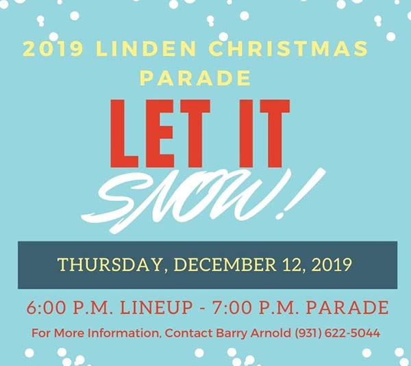 Linden Christmas Parade - Linden, Tennessee