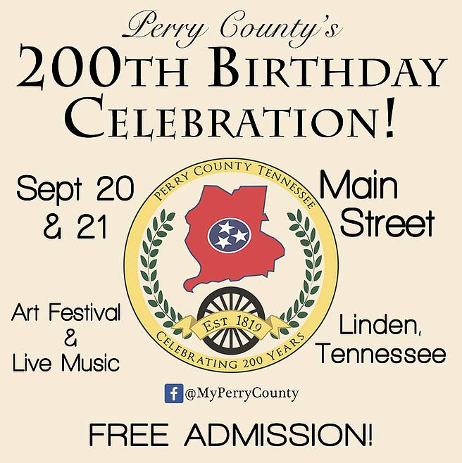 Perry County 200th Birthday Celebration - Linden, Tennessee