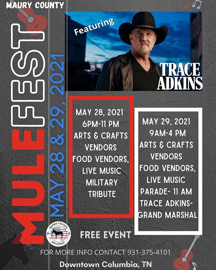 Maury County MuleFest - Columbia, Tennessee