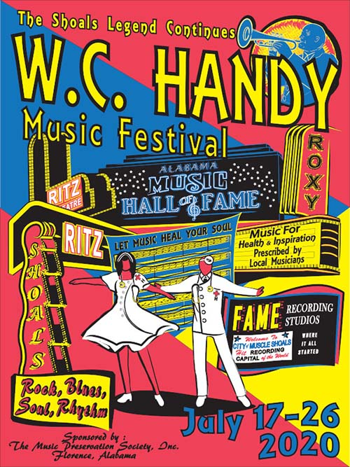 WC Handy Music Festival - Florence, Alabama