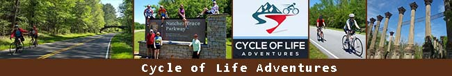 Cycle of Life Adventures - Bicycle Tour Guide