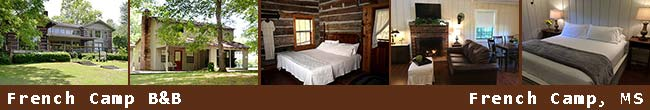 French Camp Bed and Breakfasts - French Camp, MS