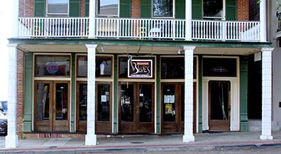 Biscuits & Blues Restaurant - Natchez, Mississippi