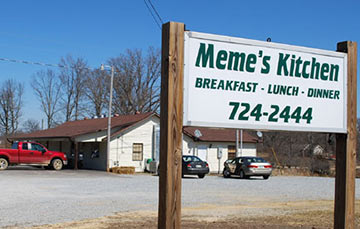 Meme's Kitchen Family Style Restaurant - Collinwood, Tennessee