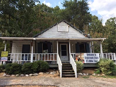 Old Crossroads Country Store - Utica, Mississippi