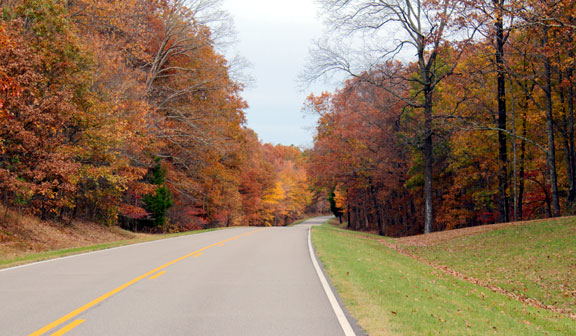 Milepost 374 - Tennessee Fall Foliage