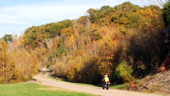 Milepost 427 - Tennessee Fall Foliage