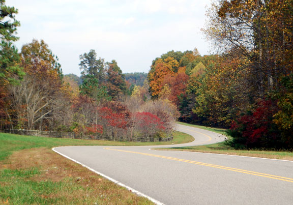 Milepost 433 - Tennessee Fall Foliage
