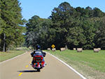 The Natchez Trace Parkway is clean and smooth.