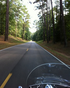 Motorcycling The Natchez Trace Parkway