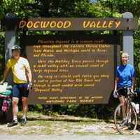 Mississippi - Cyclists from Oxon Hill Bike Club taking a break at Dogwood Valley.