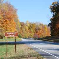 Natchez Trace Parkway: Nashville - Franklin | View from Birdsong Hollow parking area (milepost 438) looking north.