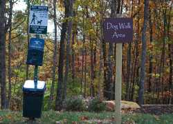 Timberland Park - Dog Walk Area