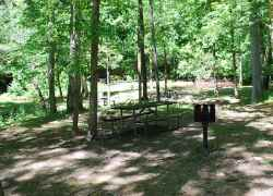 Little Swan Creek Picnic Area - Meriwether Lewis Death & Burial Site