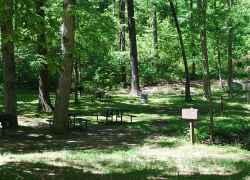Old Spring Picnic Area - Meriwether Lewis Death & Burial Site
