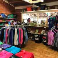 The General Store offers basic necessity items as well as fitness gear and souvenirs.