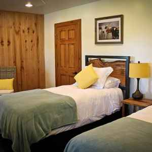 One of two guest rooms with Twin Beds.