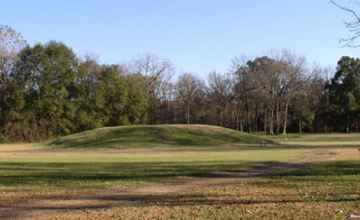 Great Sun's Mound at the Grand Village of the Natchez Indians