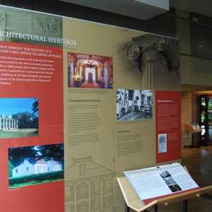 Natchez Visitor Center displays