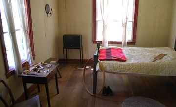 Visitors can view several rooms as they were in the early 1800s.