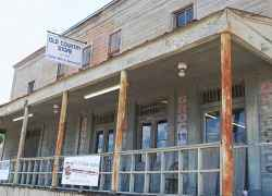 Front view of The Old Country Store Restaurant - Lorman, Mississippi