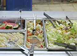 The Salad Bar at the Old Country Store Restaurant - Lorman, MS