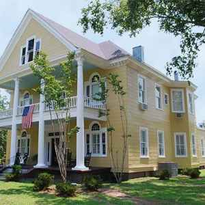 View of Isabella B&B from Church Street - Port Gibson, Mississippi