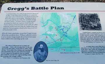 Gregg's Battle Plan - Battle of Raymond
