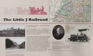 The Little J Railroad - Battle of Raymond