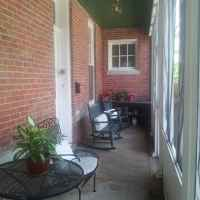Maple Terrace Inn - Back Porch and Entryway