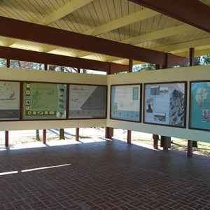 Exhibit Shelter at Little Mountain Overlook