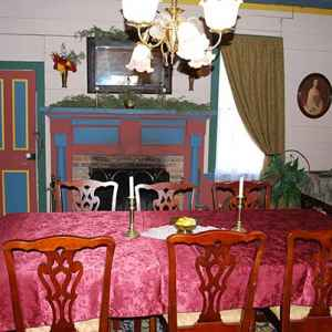 The Col. James Drane House - The Dining Room is one of seven rooms that you may view.