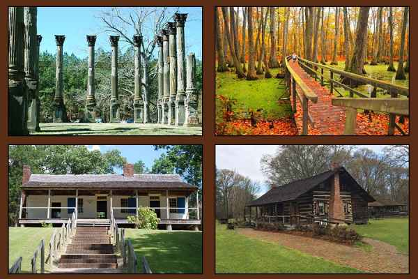 Mississippi - Top 30 Natchez Trace Sites