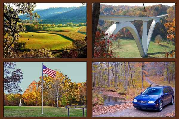 Tennessee - Top 30 Natchez Trace Sites