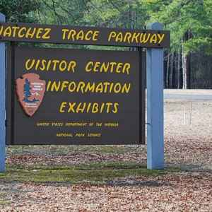 Natchez Trace Parkway - Visitor Center - milepost 266 in Tupelo